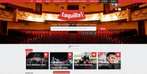 Web Taquilla