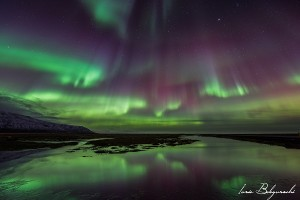 Auroras Boreales cerca de Reykjavik