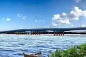 Eurofinsa construye puente en Ecuador