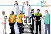 Tú Trabajo – Retratos profesionales – Nueva exposición en C/ Hortaleza, 9, Madrid. ThreeDee-You Foto-Escultura 3d-u