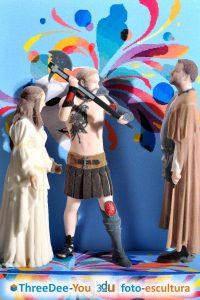 Promoción Carnaval – 20% de descuento con tu disfraz – ThreeDee-You Foto-Escultura 3d-u