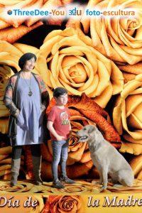 Regalo del Día de la Madre - ThreeDee-You Foto-Escultura 3d-u