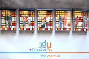 Figuras de novios para tarta de boda - ThreeDee-You Foto-Escultura 3d-u