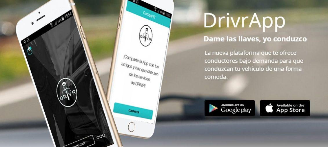 Drivr ofrece conductores que te lleven a donde quieras en tu propio coche