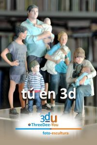 Tú en 3d - ThreeDee-You Foto-Escultura 3d-u