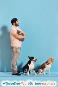¡Inmortaliza tu mascota! ThreeDee-You Foto-Escultura 3d-u