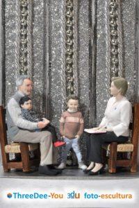 Regalos de Reyes para la familia - ThreeDee-You Foto-Escultura 3d-u