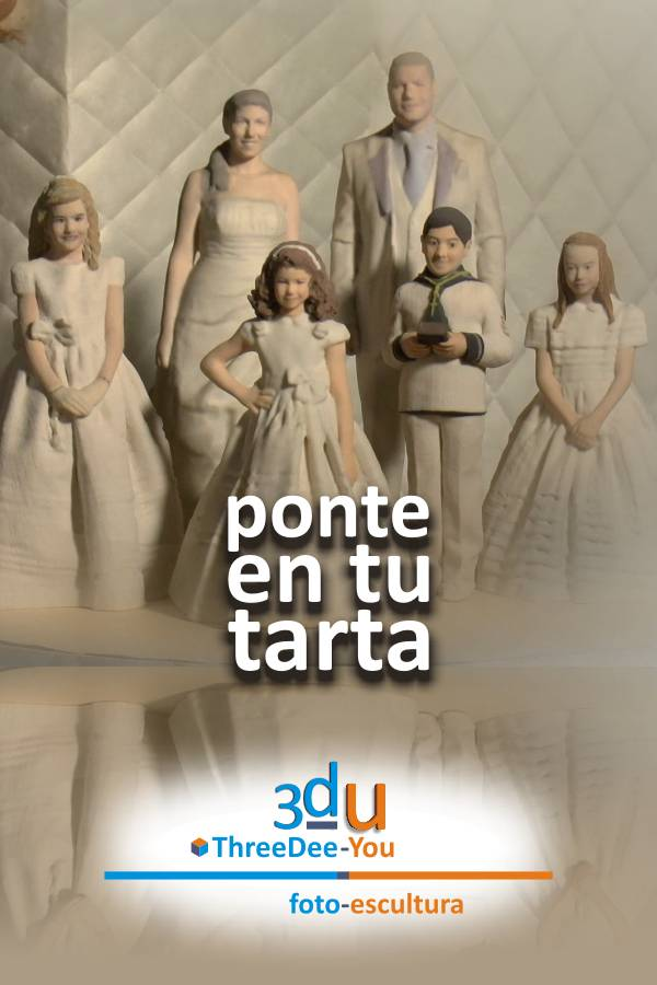 Ponte En Tu Tarta – Figuras personalizadas para tartas de boda y comunión