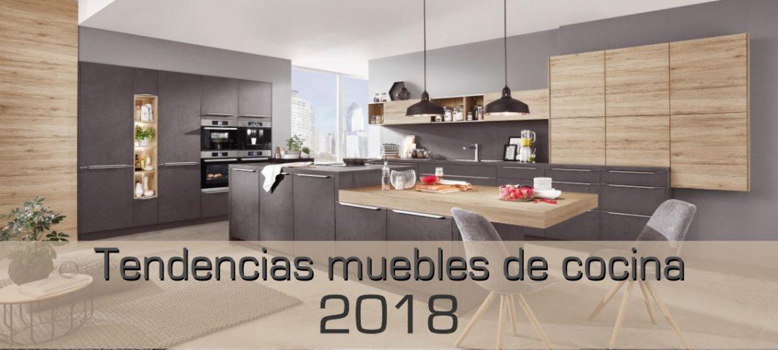 Tendencias en muebles para cocinas en 2018