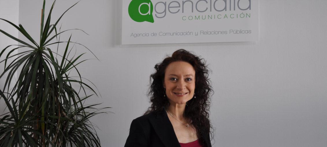 Margarita_García_directora de comunicación de Agencialia_Comunicación, agencia de comunicación y relaciones públicas. Madrid.