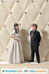 Ponte En Tu Tarta - figuras para tarta de boda, aniversario, comunión y cumpleaños