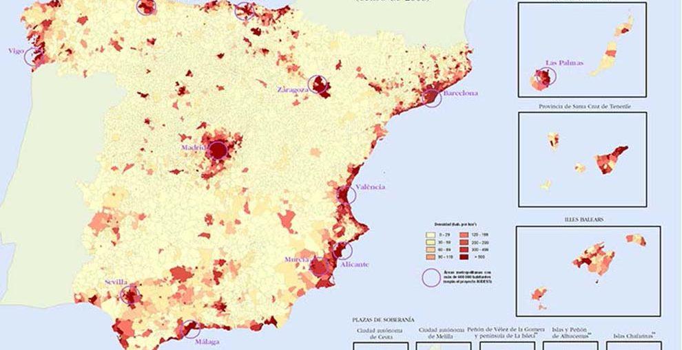 Mudanzas nacionales España