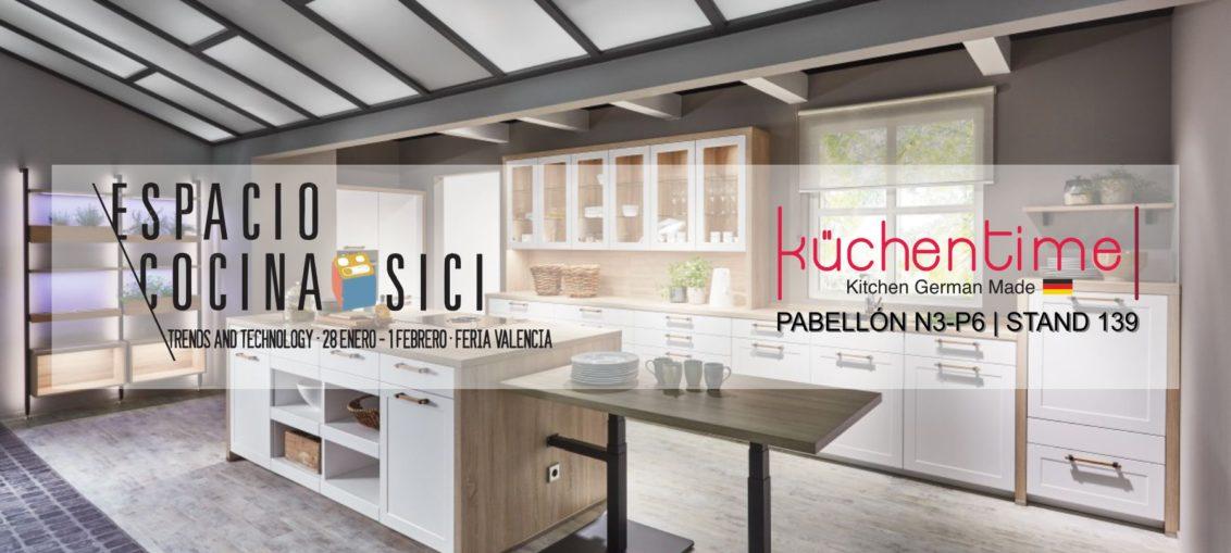 KüchenTime Valencia en la feria ESPACIO COCINA - SICI 2019