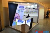 diseño stand feria farmacia