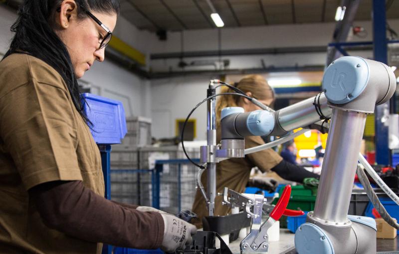 Madrid es invadido por los robots colaborativos